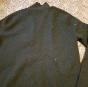 Sarah Spencer Sweaters - Sarah Spencer Black 100% Italian Merino Wool Sweat